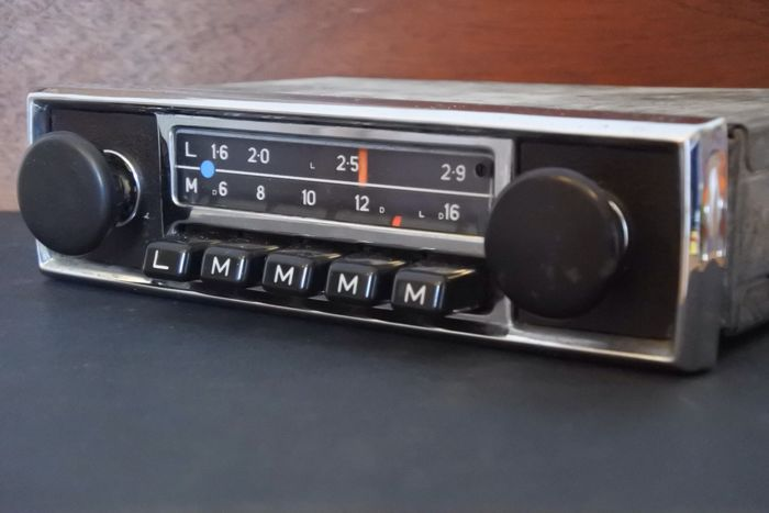 blaupunkt hamburg oldtimer autoradio 1969 catawiki. Black Bedroom Furniture Sets. Home Design Ideas