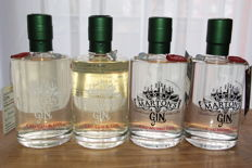4 bottles of Unfiltered Roby Marton's Gin 50 cl, 47 %