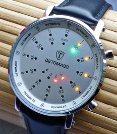 Detomaso Spacy Timeline -- men's wristwatch -- vintage 2017