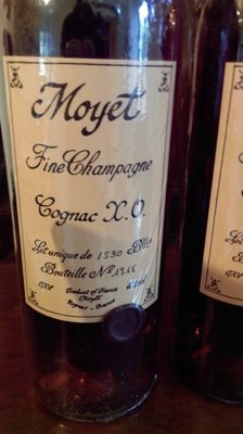 Cognac X.O. Moyet & Co - 1 bottle