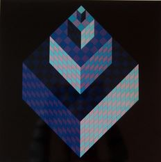 Victor Vasarely -  Hexagone AXO New York