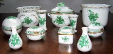 Herend  -   Lot with 11 pieces