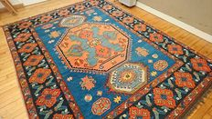 Wonderful hand knotted very large Kazakh carpet of Afghan origin - Measurements: 290- 218 cm - In very good condition - €1 STARTING BIDS!