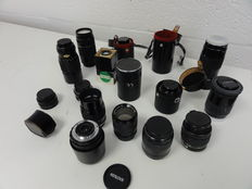 Lot 16 lenses
