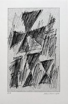 Jan Schoonhoven - Untitled