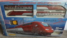 Mehano H0 - 671 -  Thalys 4 pieces with transformer