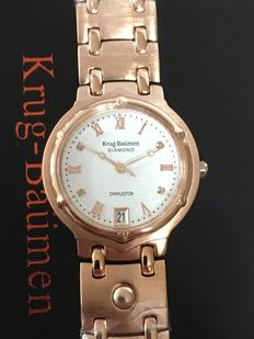 "Krug-Baumen ""Charleston 4 Diamonds"" – ladies wristwatch – 2017 never been worn"