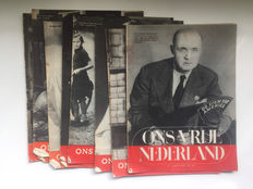 Ons Vrije Nederland - 5th volume - 11 issues - 1945