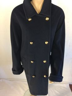 Burberrys – Wool and cashmere officer's coat in mint condition