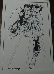 Mooney, Jim - The Punisher Pin Up Commission