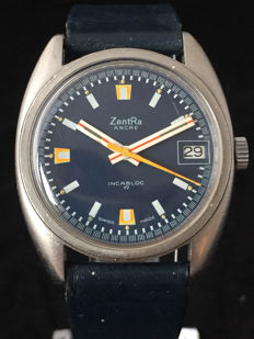 Zentra  Ancre – Men's wristwatch - 1970s