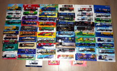 Various - Scale 1/87 - Lot with 63 Models: 63 Beer Trucks & Advertising Trucks from approx. 1975 to 1999