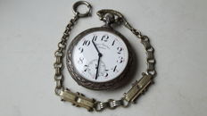 DOXA  ANTIMAGNETIQUE. men's pocket watch,  with  FOB.