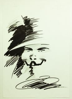 Lloyd, David - Original drawing - V for Vendetta