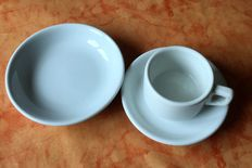 3rd Reich 3 x nice tableware, plate/bowl, 2nd WW