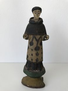 Colonial wooden saint - Philippines - 19th century