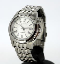 Seiko 'Kinetic' - Automatic Stainless Steel Wristwatch