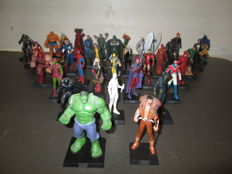Comics MARVEL - 35 Lead Figurines - Super Hero - Eaglemoss - TM/Marvel - 2005/2006/2007