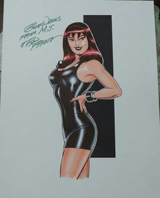 Frenz, Ron - Mary Jane Watson, Pin Up Commission