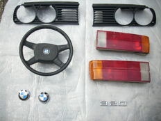 BMW - E30 headlights, plastic, logos, steering wheel