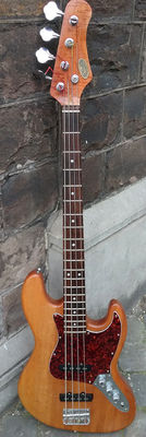 Vintage bass guitar - STAGG BM 360 - solid wood