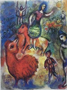Marc Chagall (after) - Cirque