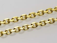Chain 18k Solid Yellow Gold - Anchor link