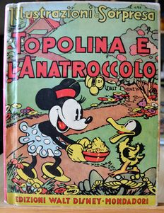 """Walt Disney - pop-up volume """"Mickey Mouse and the duckling (1935)"""