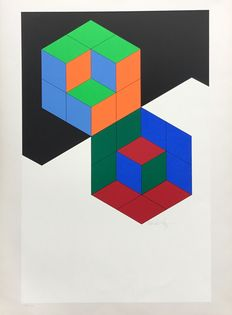 Victor Vasarely -  abstraction
