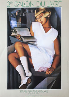 Tamara de Lempicka (after) - Salon du Livre Paris - 1983