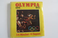 Panini - Olympia 1896 - 1972 - Complete album - Very good condition.