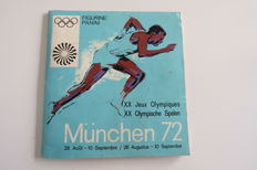 Panini - München 1972 - Complete album - Very good condition.