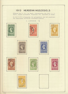 Netherlands 1899/1921 – Type 'Bontkraag' and Independence: perforations, colours and varieties