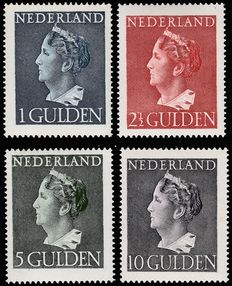 "The Netherlands 1946 – Wilhelmina type ""Konijnenburg"" – NVPH 346/349"