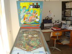 Pinball machine from the 1960s/70s