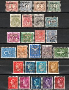 The Netherlands 1913/1950 - Official stamps - NVPH D1 through to D26