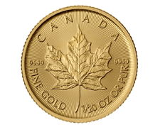 Canada - 1 CAD - Maple Leaf 2017-999.9 gold / gold coin