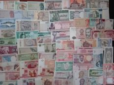 World - 150 different world banknotes