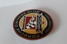 Porsche Owners Club Founded 1955  grill badge