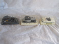Corgi / Solido - Scale 1/43-1/36 - Lot of 5 Rolls-Royce: 3 x Corniche, 1 x Phantom, 1 x Silver Wraith