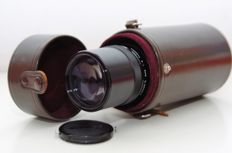 NIKKOR-Q Auto 1:4 f=200mm (1969) With Case.