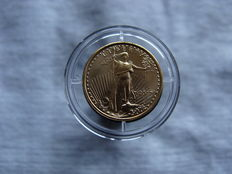 "United States - 5 dollar 2007 ""Liberty"" - gold"