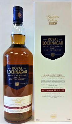 Royal Lochnagar Distillers Edition - Distilled 1998 - Bottled in 2011 - Discontinued Bottling - Litre Bottle