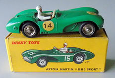 Dinky Toys-France - Scale 1/43 - Aston Martin DB3 Sport green No.506