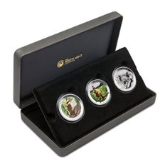 Australian: Australian Outback 2014, Coloured Silver Coin Collection, Limited edition of 5000 pieces.