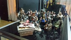 12 figures of the Pirates of the Caribbean