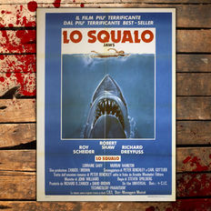 Jaws - Original Italian movie poster - 1975 - Size 100x140cm - Steven Spielberg