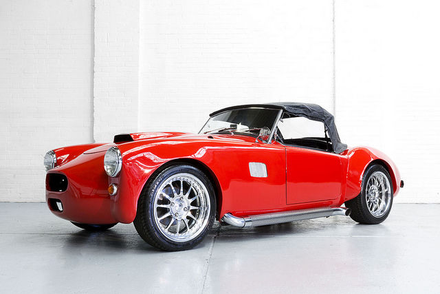 MG - a custom-made AC Cobra - 1957