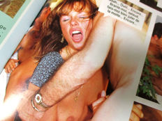 Magazines: Lot with 10 issues of Belgian sex magazines - 1980/1990