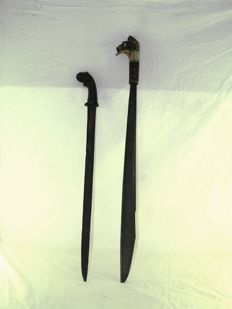 Golok and mandau – Sumatra & Kalimantan – Indonesia